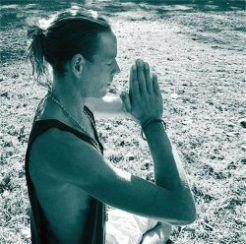 Meditation teacher Simon Sureshwara