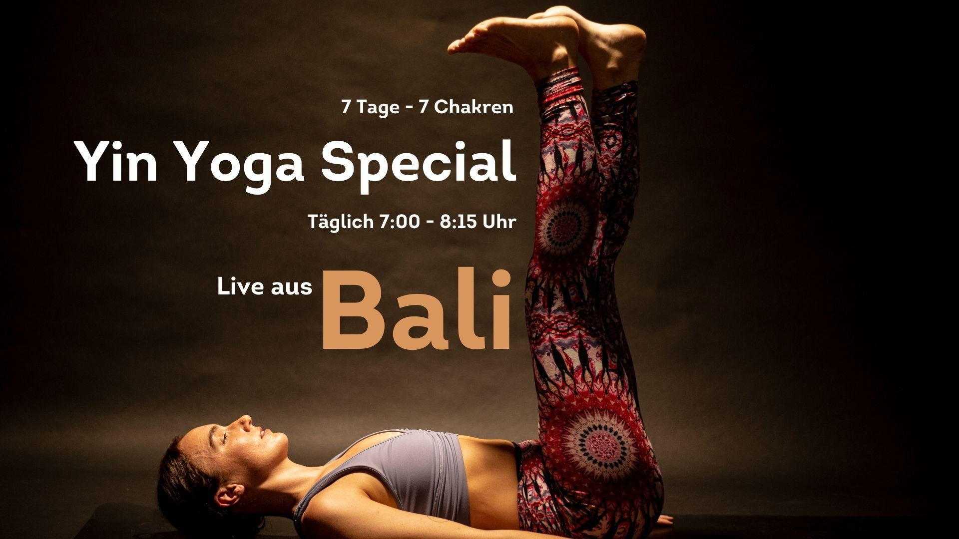Yin Yoga Special April - Yin Yoga - Online Retreat - 7 Tage Yin Yoga